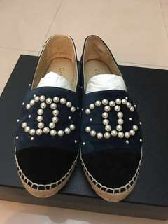 ❗️減價❗️Chanel珍珠草鞋 $3000