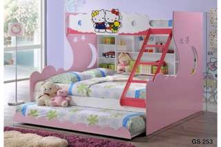 Offer hello kitty bunk beds single-queen-single