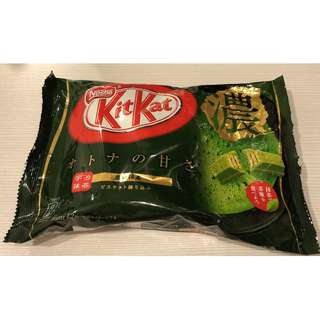 🚚 【Nestle雀巢】KitKat 抹茶巧克力餅乾 (12枚)