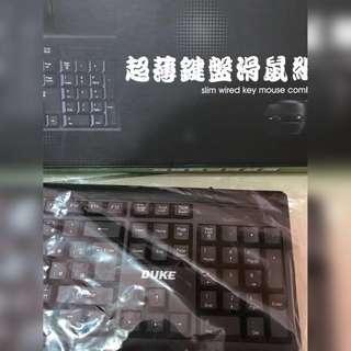🚚 黑色超薄無聲鍵盤 沒有附滑鼠