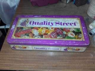 糖 餅鐵盒 花街 瑞士糖 積合