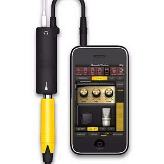 IRig Guitar interface for iphone and Ipad
