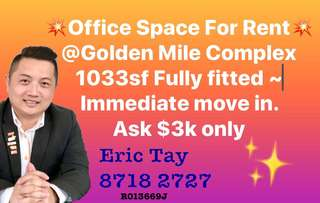 Office Space For Rent @ Golden Mile Complex