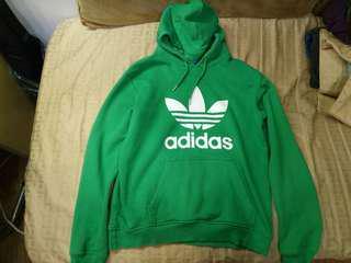 🚚 三葉草🍀 adidas  <綠色帽T>