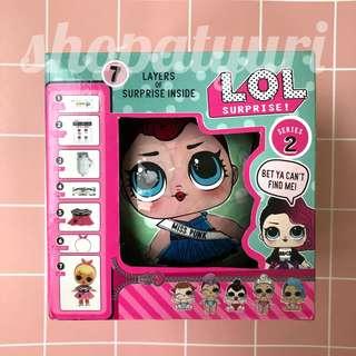LOL Surprise Dolls Series 2 Boneka L.O.L Bola Hijau Ready Stock