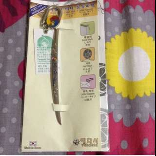 Hair Stick + Book Mark + Letter Opener From Korea