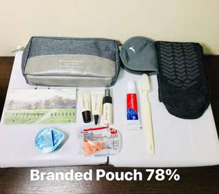Cathay Pacific Business Class Toiletries Pack. AUTHENTIC. Fresh Items.