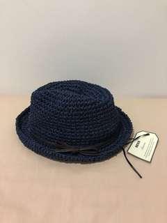 *NEW* 女裝仿藤織漁夫帽