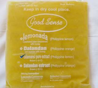 Calamansi Pure Extract (Frozen)
