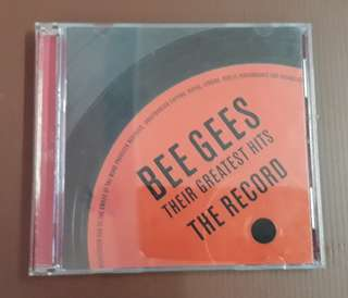 CD Bee Gees - Their Greatest Hits 2×CD ( IMPORTED TAIWAN )