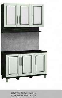 Kitchen set 3p atas rak 3p bawah