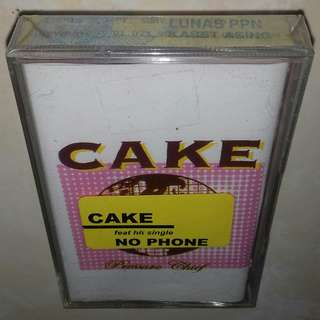 Kaset / Cassette CAKE - Pressure Chief