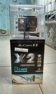 BCare, action kamera, fullset!