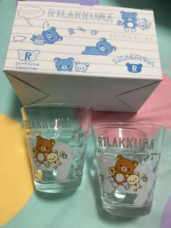 Rilakkuma glass cup