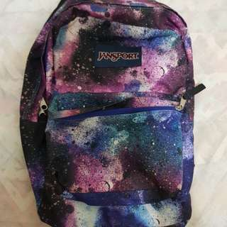 Galaxy Jansport Bag
