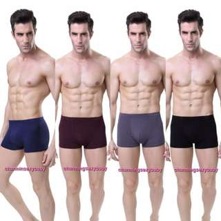 Sexy Bamboo Men's Underwear Briefs Boxers Lingerie LY0062-4