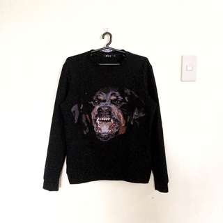 Givenchy Rottweiller Pullover