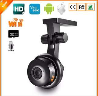 Wireless IP Camera HD 720P CCTV ONVIF P2P Two-way Audio Motion Detection