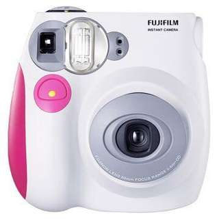 Fujifilm instant camera indax mini 7