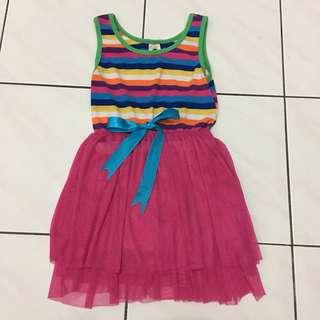 Rainbow Tutu Dress 3-4yrs
