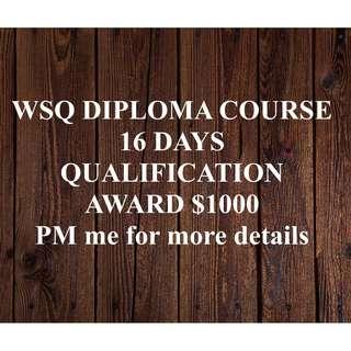 WSQ Course