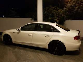 Cheap Steal Promotion Audi A4 S Line Tastefully Done Up For Long Term Lease Rental