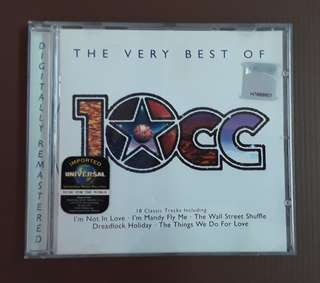 CD 10cc - The Very Best Of ( EUROPE PRESS )