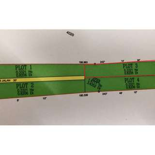 Residential Lot .8 Acre In Nice Kampung Setting
