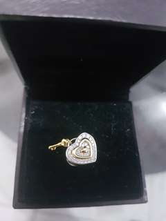 Heart shape stone authentic