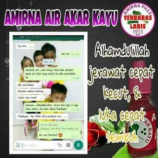 PROMO 3 bottle - Air Akar Kayu Amirna