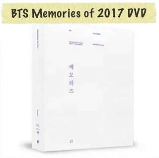 [PREORDER] BTS MEMORIES OF 2017