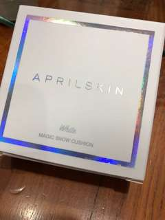 🚚 Aprilskin White Magic Snow Cushion #23