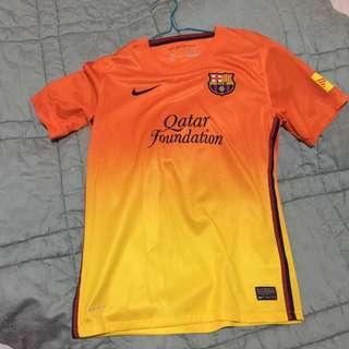 FC BARCELONA QATAR SOCCER DRI FIT OMBRE JERSEY