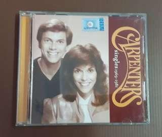 CD Carpenters - Singles 1969-1981 ( Compilation ) M'sia Press