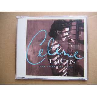 Celine Dion - The Power Of Love CD Single (No Living Without You / Did You Give Enough Love)
