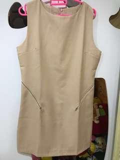 PRELOVED - Pink Nude Dress