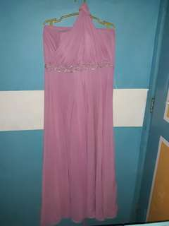 REPRICE!!!  Pink Gown