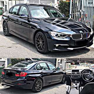 SAMBUNG BAYAR / CONTINUE LOAN  BMW F30 328i  YEAR 2012