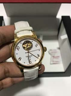 Authentic Tissot T-Classic T050.207.36.017.00 Gold Tone
