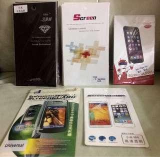 舊機款 mon 貼 screen protector screen 小米 紅米 s4 日本料