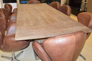 Solid Pine Wood Dining/ Conference Table