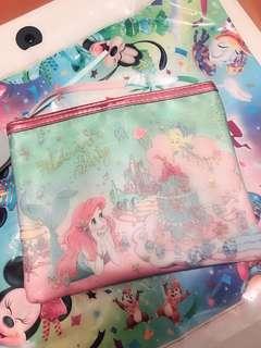 日本迪士尼美人魚化妝袋