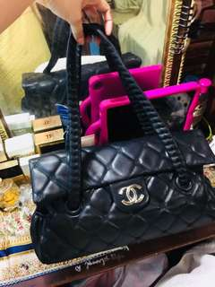 Chanel Bag with hidden chain! With holo! God condition!