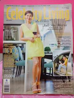 Celebrity Living Back Issue