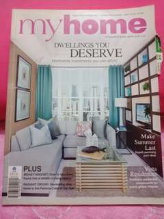 My Home magazine back issue