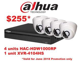 Dahua CCTV package promotion