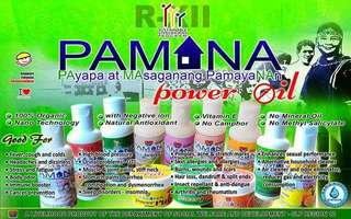 PAMANA Power Oils and Rubs