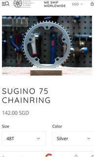 Sugino 75 Chainring