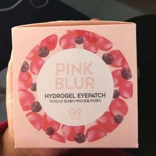 G9 Skin Pink Blur Hydrogel Eye Patch