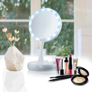 (PO folded LED Mirror..(Ai)